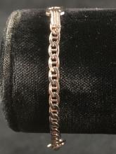 Lot 918: Vintage Sterling Silver Childs Bracelet