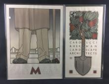 Lot 921: 2 David Lance Goines Signed Prints