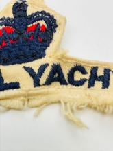 Lot 925: Original Great Britain Royal Yacht HMY Brittania Uniform Patch England