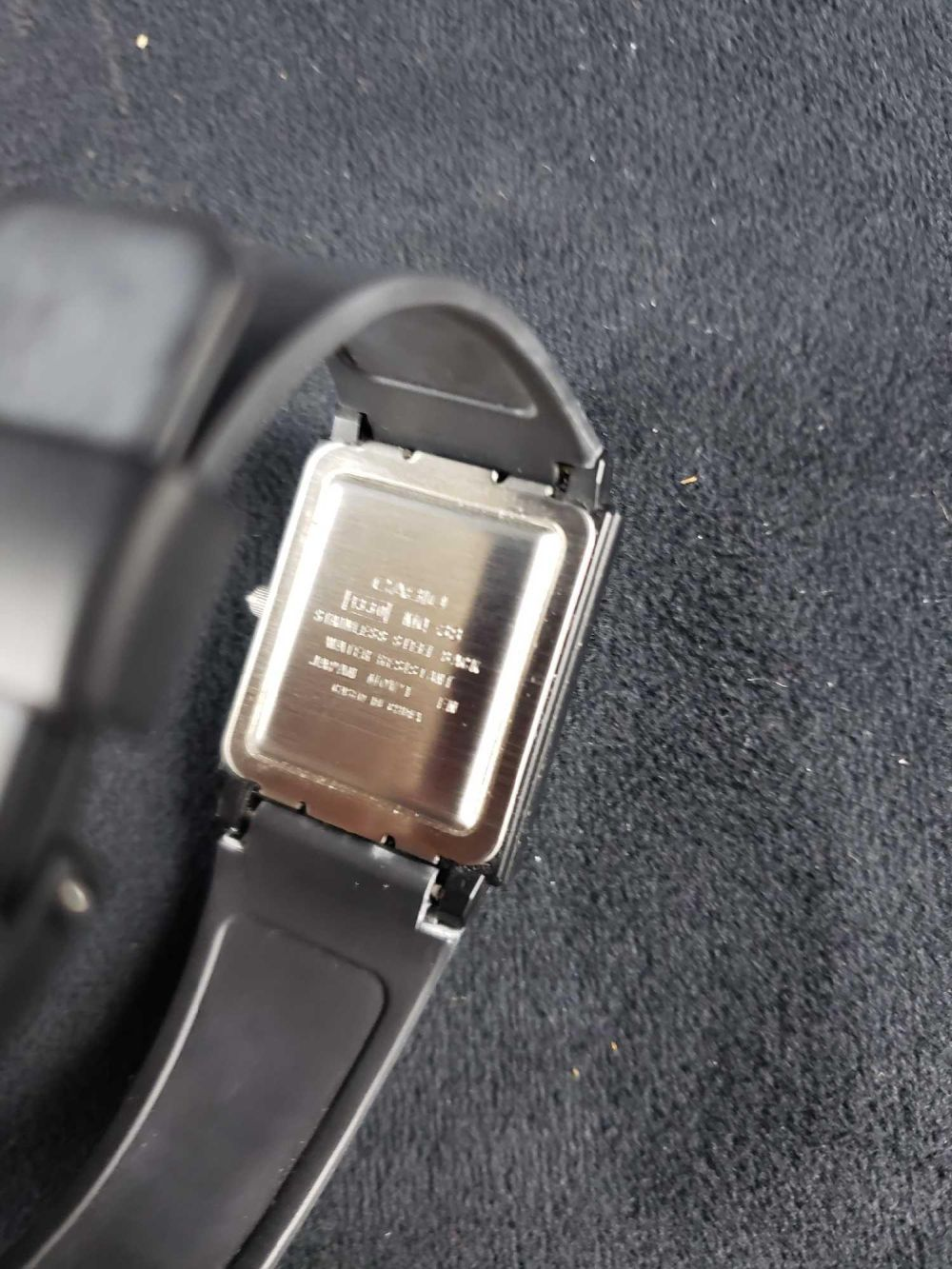 Lot 933: Casio Quartz Water Resistant Watch