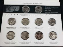 Lot 945: Lot of 4 America The Beautiful Uncirculated Coin Sets 2011 2012 2013 2014