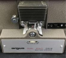 Lot 949: Vintage Argus 2808 Dual Eight Editor Viewer