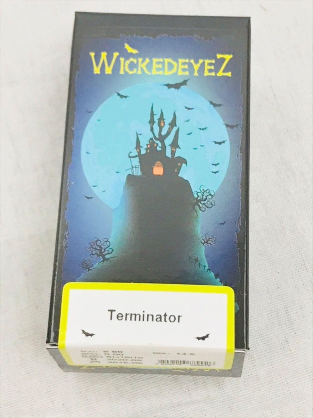 Lot 950: WickedEyez Terminator Contact Lenses
