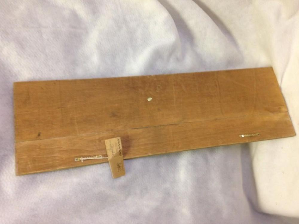 Lot 955: NOS-Halloween Decor wood Sign-Pumpkins in a Row lot 4 Debbie Bryan Collection