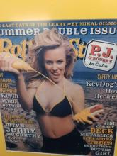 Lot 969: Framed Rolling Stone Jenny McCarthy Cover