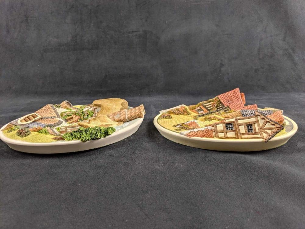 Lot 982: Set Of Two David Winters Collector 3D Plates