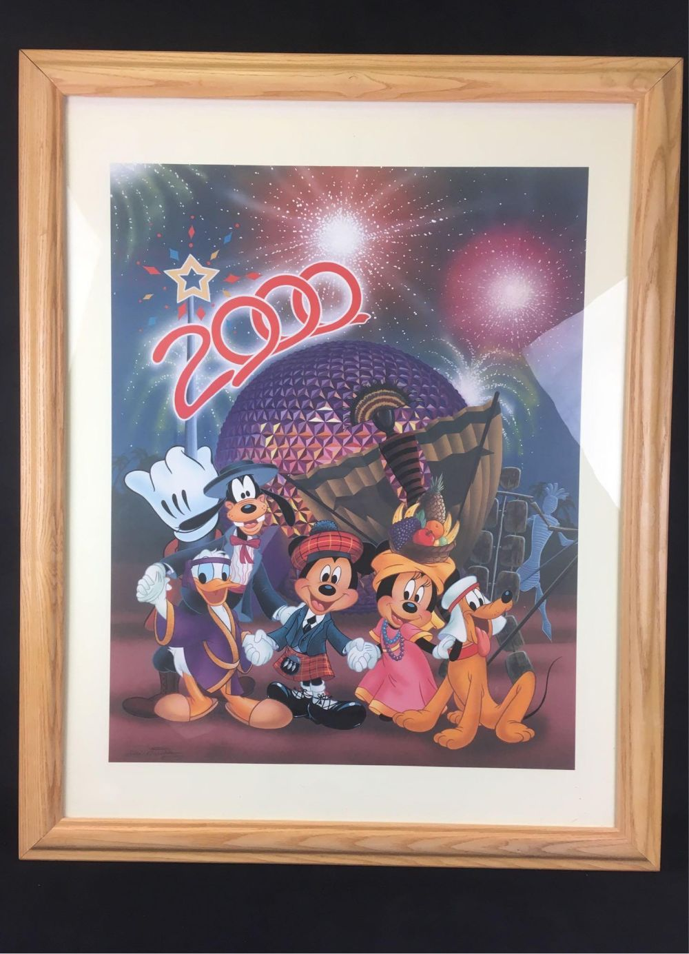 Lot 990: Disney Commemorative Print 2000 by Animator Don Williams