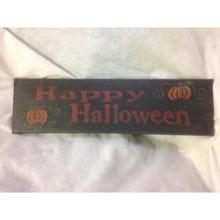 Lot 994: NOS-Halloween Decor Sign-Happy Halloween lot 4