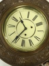 "Lot 999: Large Regulator ""A"" Wall Clock Reproduction"