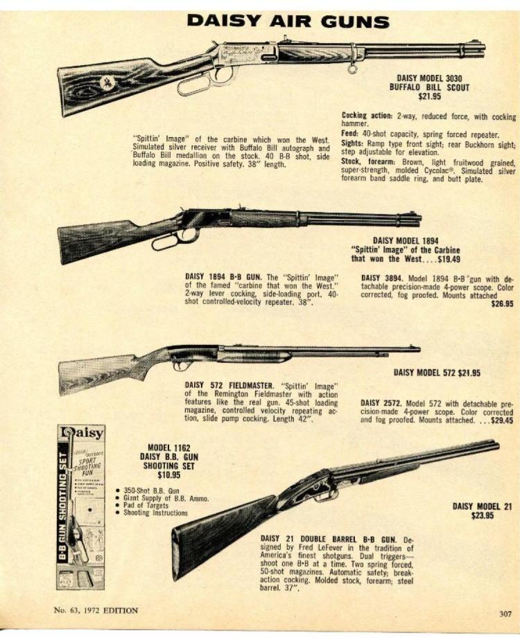 Buffalo Bill Model 3030 Daisy BB Gun  supplier