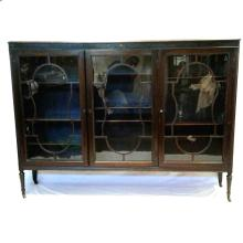 Antique Walnut Display Case