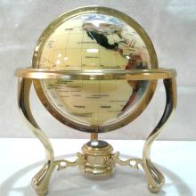 Golden Globe with Compass