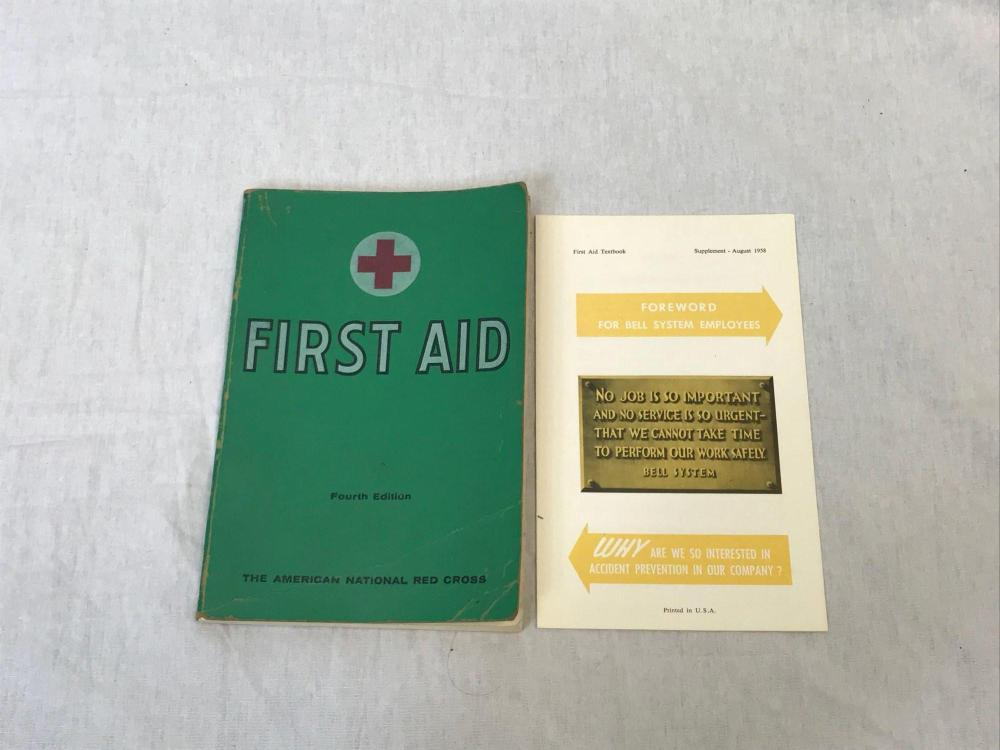 American Red Cross First Aid Book