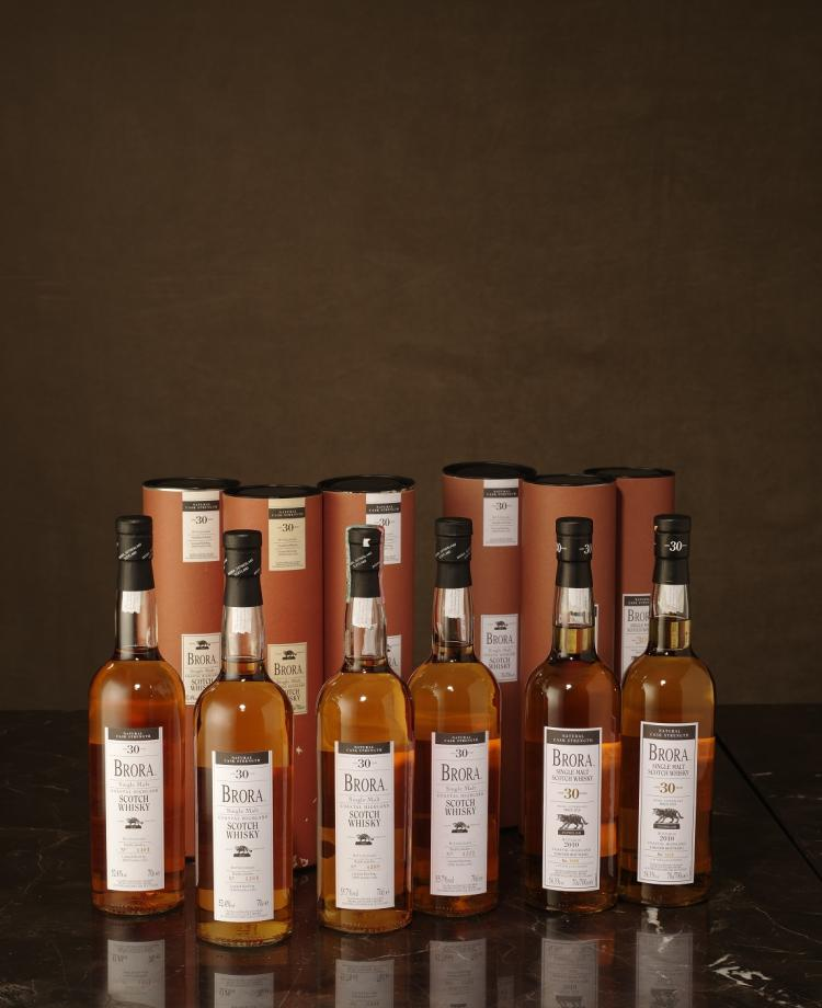 Brora 30 years old 2003 edition 2003 bottled for Classic house 2003