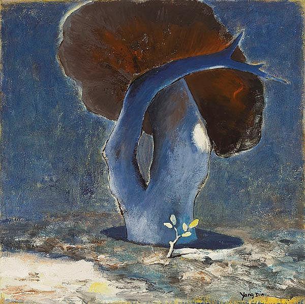 YANG Din (Chinese, b. 1958) Champignon de Paris