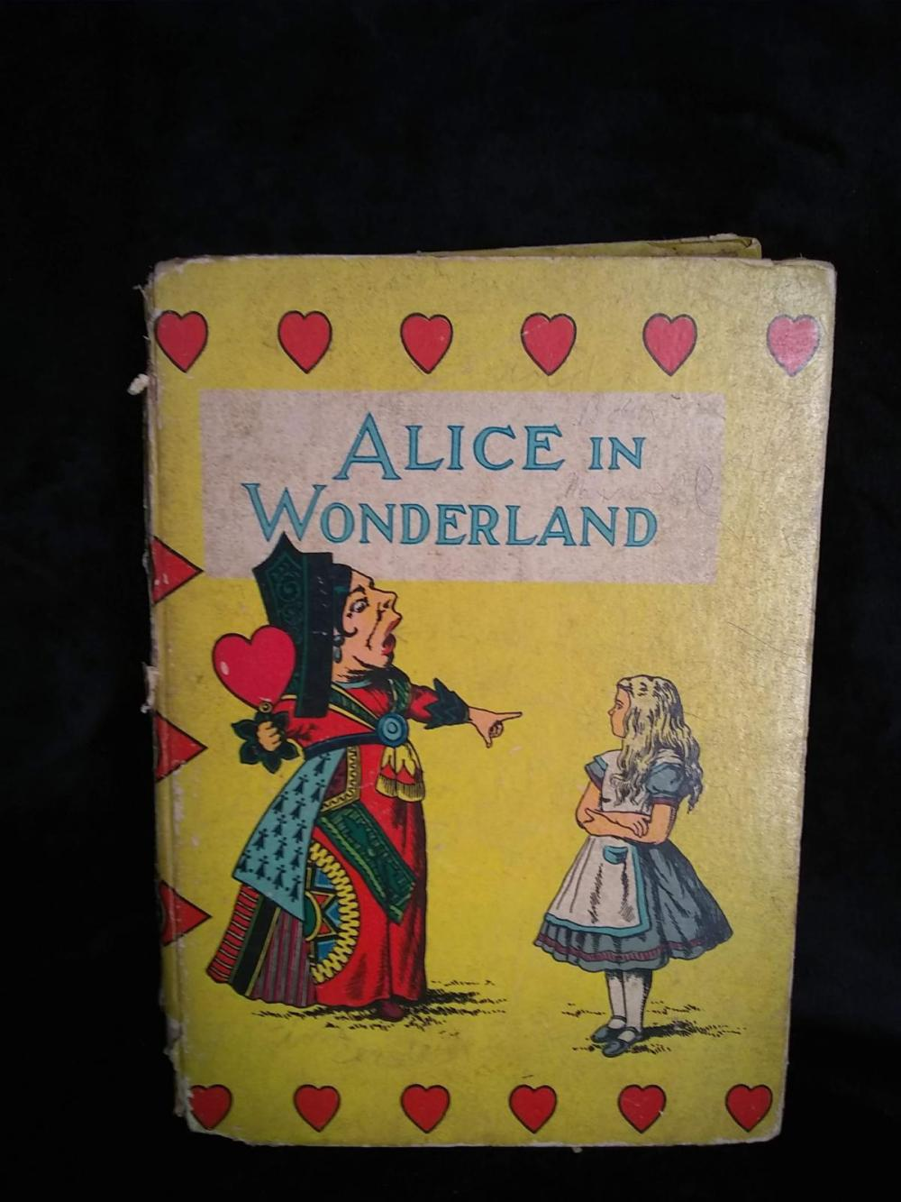 "Vintage Children's Book - ""Alice in Wonderland"" - 1932 - Lewis Carroll w/ 42 Illustrations"