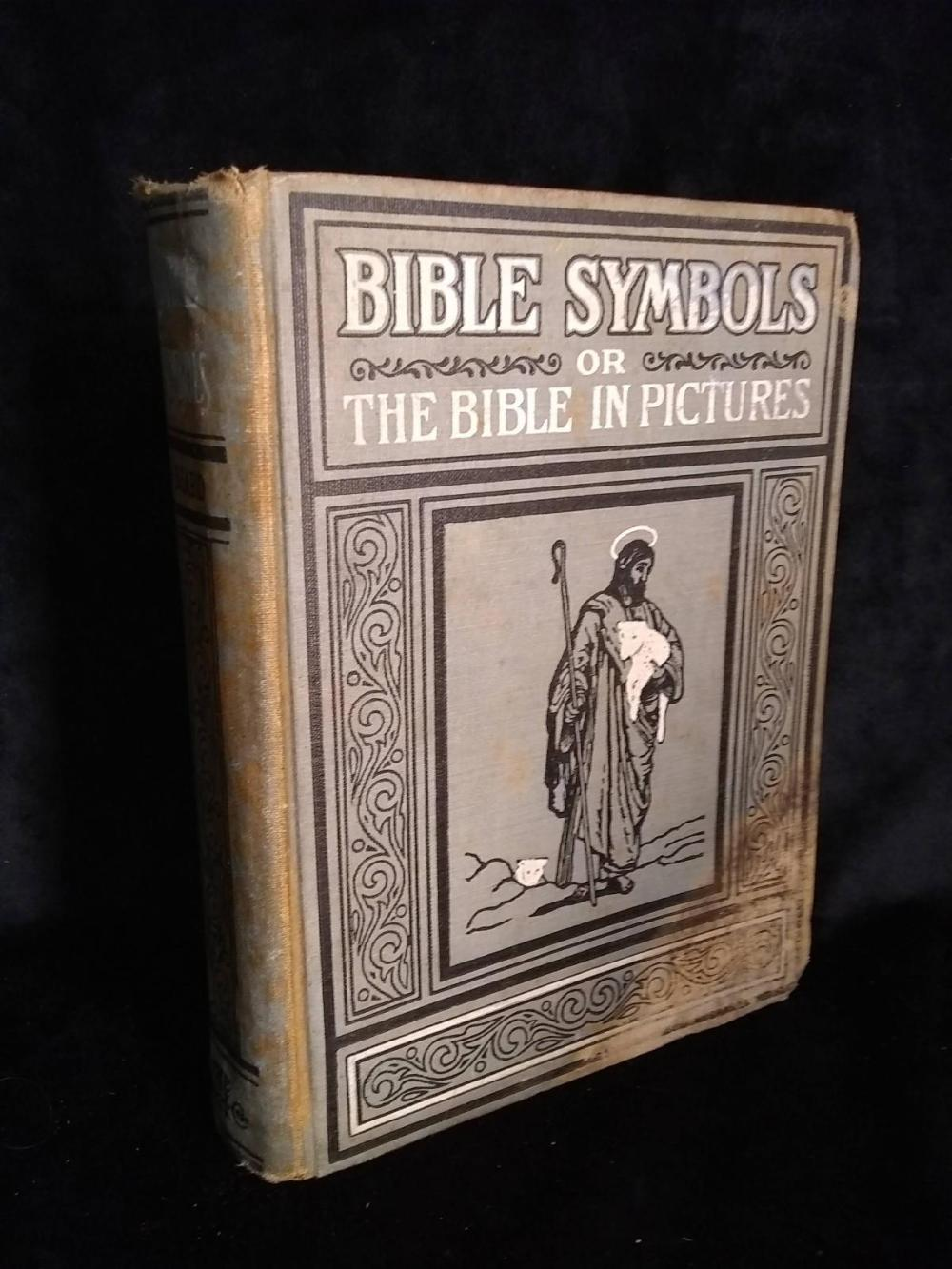 Vintage Book - Bible Symbols or The Bible in Pictures - 1920 - Charles Stuart