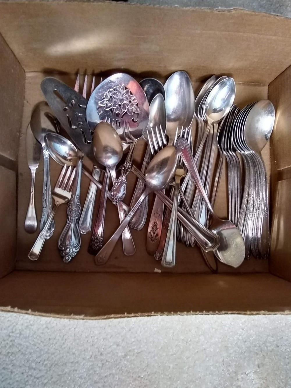 Assorted Silver-plated Flatware