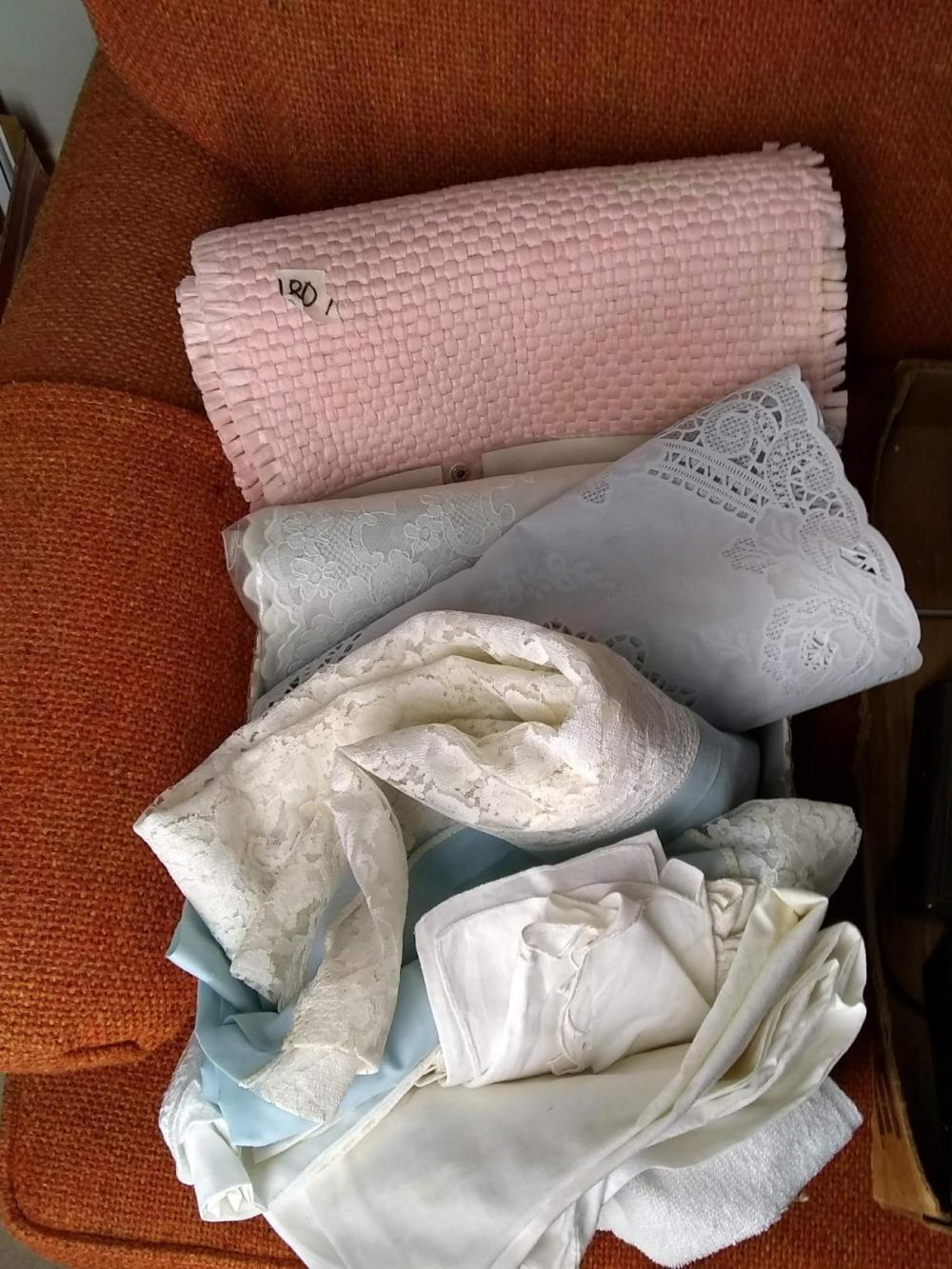 Assorted Linens, Placemats, Etc.