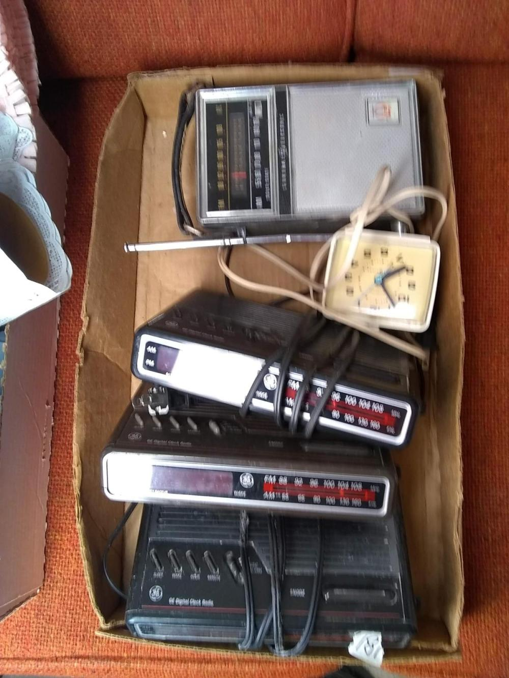 Radios, & Clocks - all untested