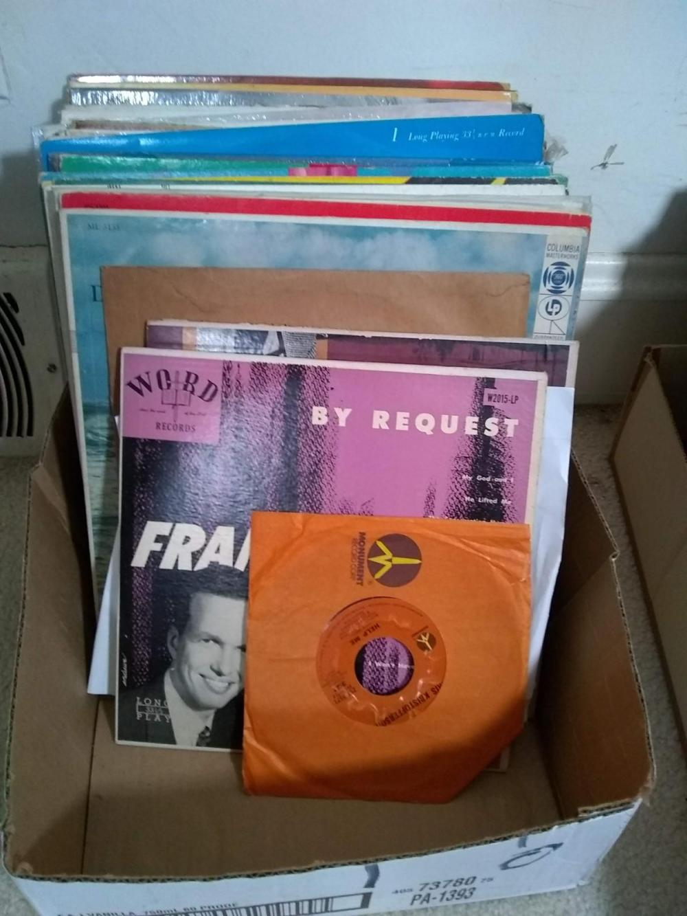 Assorted Records, & LP's