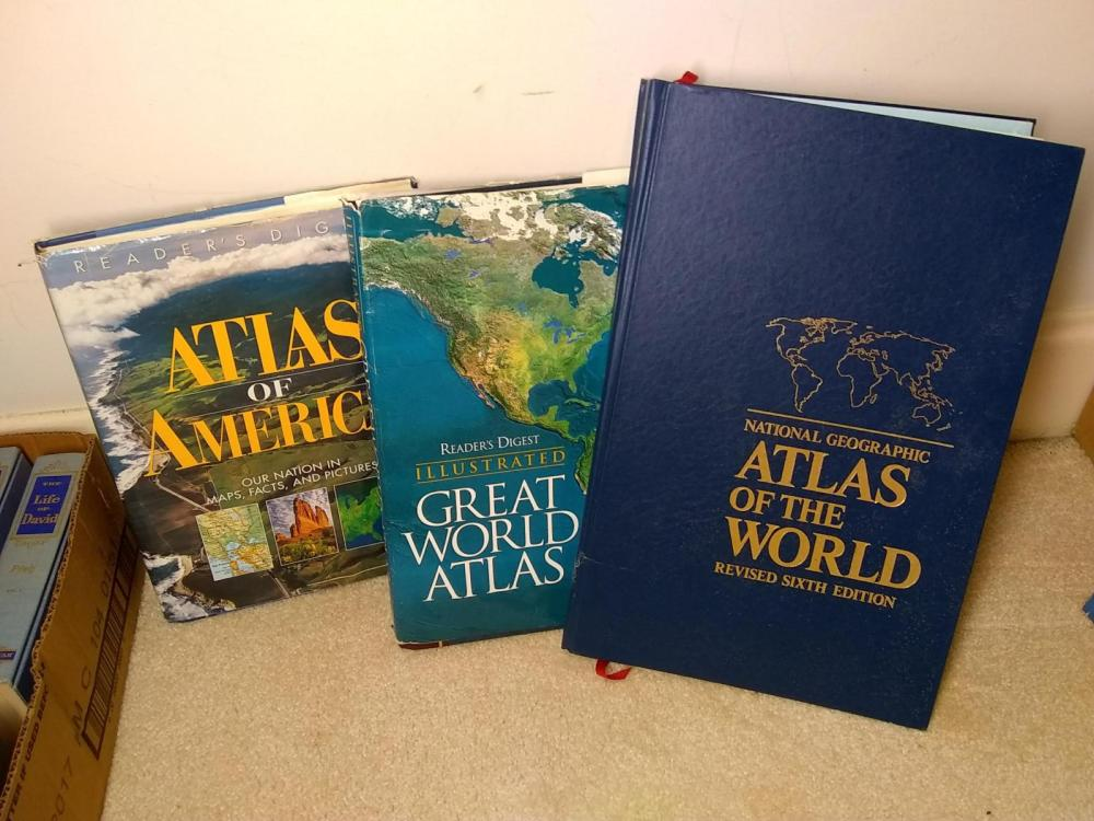 Large Coffee Table Books - Atlas