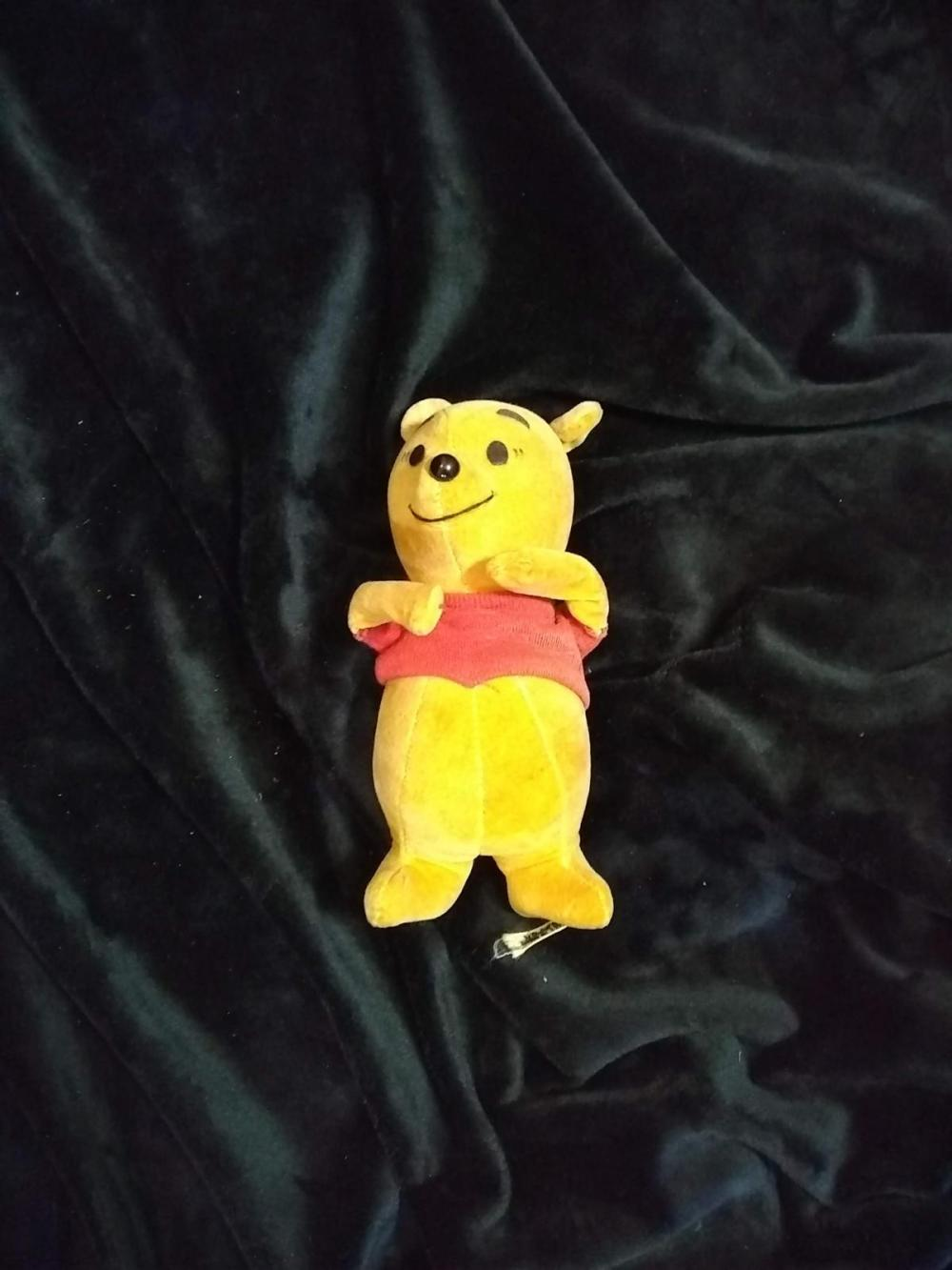 Vintage 1954 Japan Stuffed Animal - Winnie the Pooh