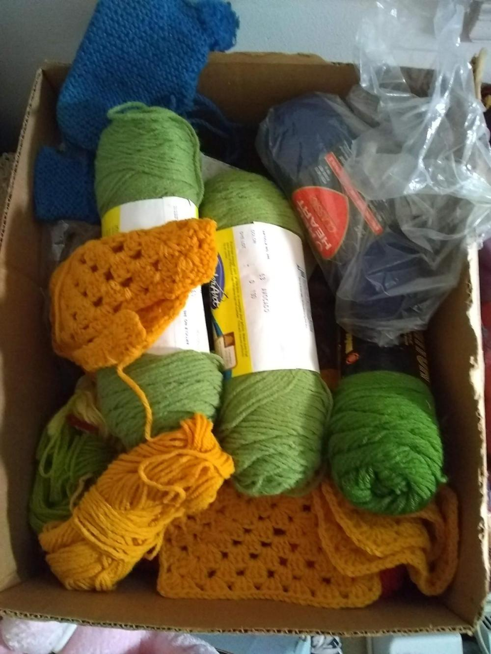Crocheted Yarn & Accessories