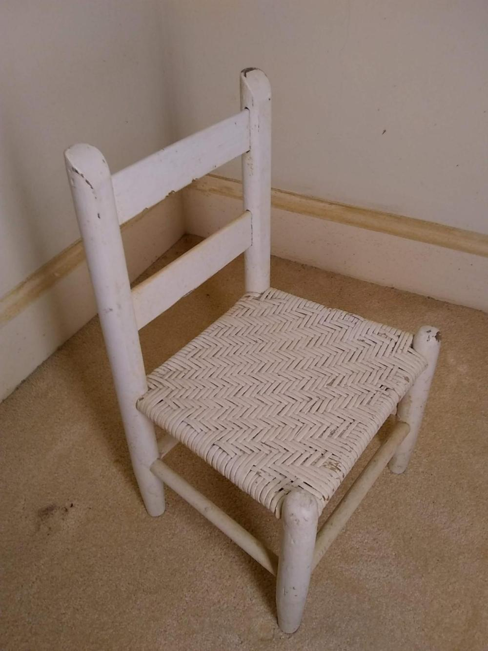 Early Painted Child's Chair