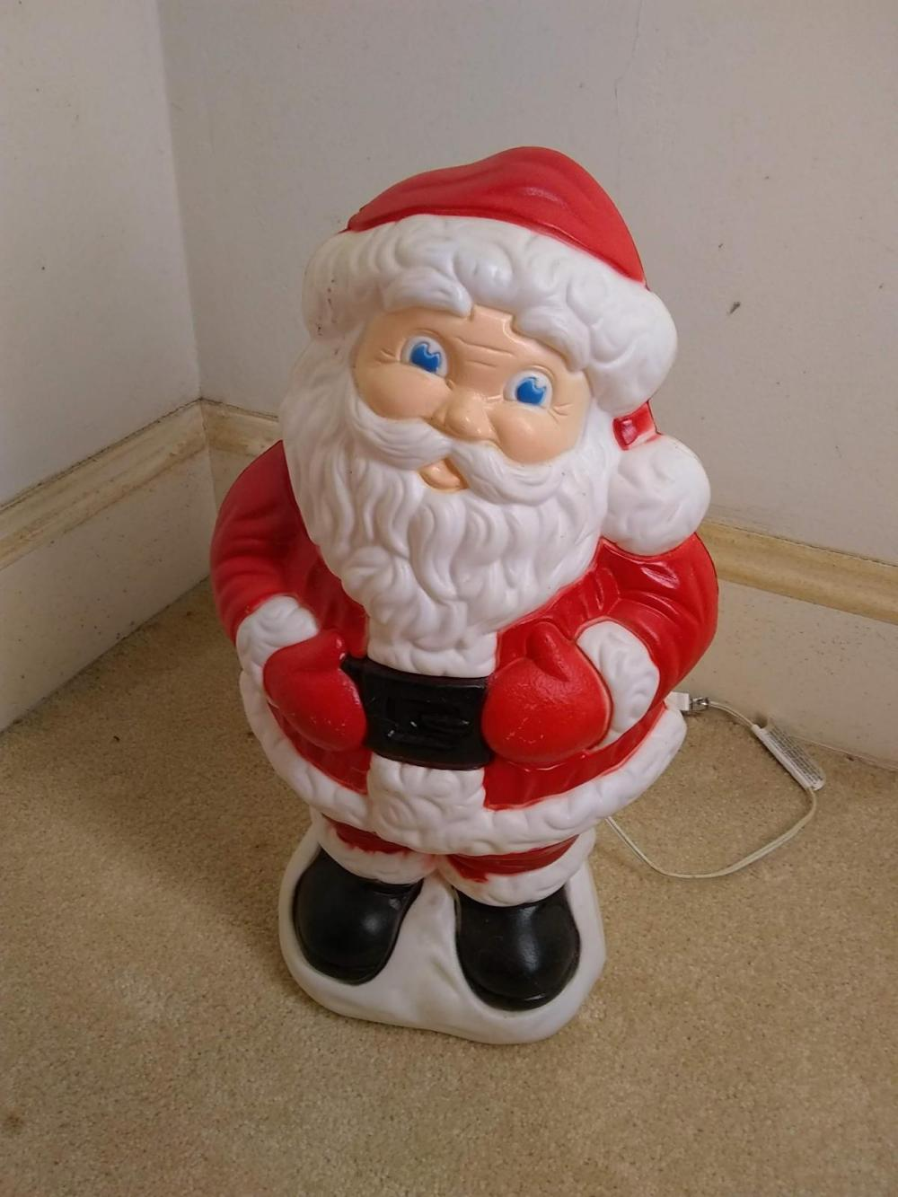 Blow Mold Santa Claus
