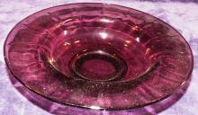 Cambridge Amethyst Rolled Edge Bowl