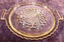 Crystal American Fostoria Serving Plate