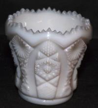 Imperial Milkglass Toothpick Holder