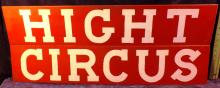 Hand Painted Hight Circus Boards