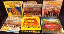 Collection 11 Circus Vinyl LP'S