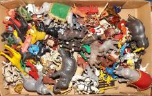 Box Lot- Plastic Circus Animals