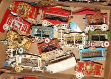 Box Lot- Plastic Train & Calliope Circus Cars