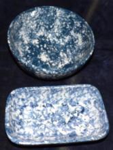 Blue Spongewear Bowl & Casserole