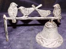 Metal Outdoor Bird Bell