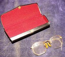 Vintage Eyeglasses With Case