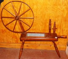 Decorative Spinning Wheel Planter