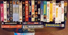 Box Lot- VHS Tapes