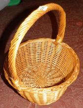 Wicker Handle Basket