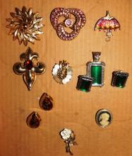 Box Lot - Assorted Costume Jewelry