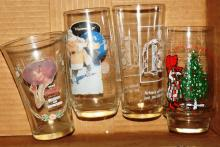 Box Lot - Coca Cola & Holly Hobby Glasses