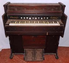 Chicago Cottage Pump Organ, works