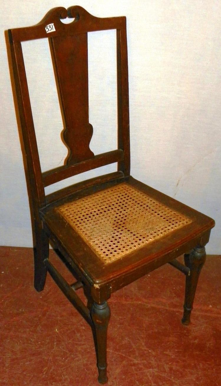 how to clean cane bottom chairs