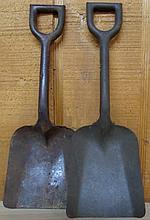 Vintage Metal Toy Sand Shovels (2)