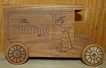 Betty Crocker Stuffing Mix Wooden Truck Band