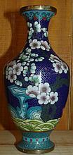 Cloisonné Oriental Decorated Vase